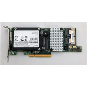 LSI MegaRAID SAS 9266 PCI-e 8-Port 6Gb/s RAID Card 9266-8i w/ Battery