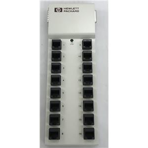 HP J2484A HP RJ45/RS-232 16 Port MUX Multiplexer Interface Module