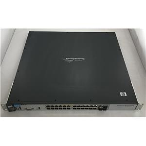 HP ProCurve J8692A 3500yl-24G-PWR 24 Port PoE Network Switch