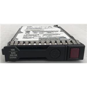 "HP 300G 10K SAS 2.5"" Dual Port 641552-001 652566-001 0B26026 653955-001"