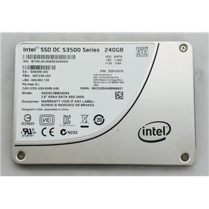 "Intel Enterprise DC S3500 240GB SSD 2.5"" SATA III 6Gbps SSDSC2BB240G4 MLC SSD"