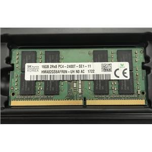 Hynix 16GB 2Rx8 PC4-19200 DDR4-2400MHz nonECC Unbuffered SODIMM HMA82GS6AFR8N-UH