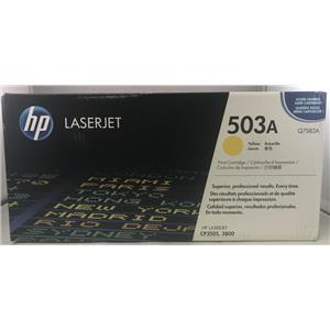 Brand New OEM HP LaserJet 3800 Yellow Toner Cartridge Q7582A