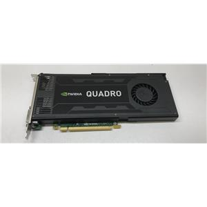 HP Nvidia Quadro K4000 3GB PCIe Video Graphics Card 700104-001 713381-001