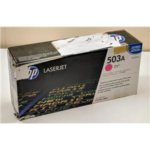 New Sealed HP 503A Magenta Cartridge Q7583A LaserJet 3800,CP3505 Damaged Box