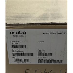 HPE Aruba 2930M 24G POE+ 1-SLOT SWITCH JL320A