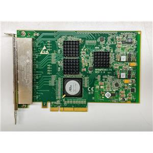 Dell YK537 6-Port RJ-45 Network Card 1Gbps PCIe x 8 NIC 76-0939639-A