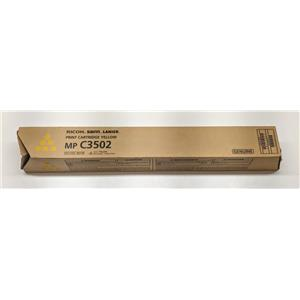 Geniune Ricoh, Savin, Lanier MP C3502 Yellow - 841736