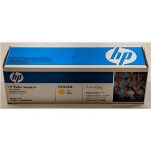 Brand New HP 304a LaserJet CP2025 CM2320mfp CC532a Yellow Toner Cartridge