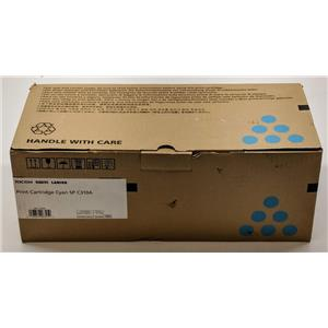 Ricoh Cyan Print Cartridge SP C310A 406345 M847-13