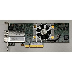 Dell Dual-Port QLE8262L PCI Express x8 Network Adapter PW4FJ w/ SFPs