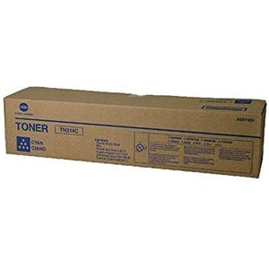Konica Minolta TN314C A0D7431 Cyan Toner Cartridge 20K Pages Genuine