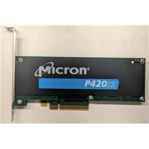 Micron RealSSD P420m MTFDGAR1T4MAX-1AG1ZABDA HHHL 1.4TB Solid State Drive