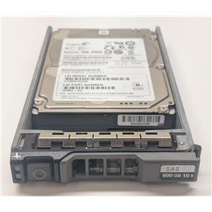 """Seagate 600GB 10K SED 2.5"""" 6Gbps SAS Hard Drive ST9600104SS w/ Dell Rseries Tray"""