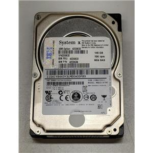 "IBM 146GB 15K 6Gbps 2.5"" SAS Hot Plug 42D0678 42D0677 42D0671 42D0633 NO Tray"