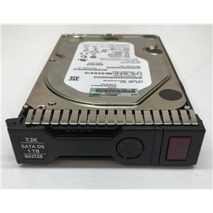 """HP 1TB SATA HDD 7200 RPM  6GB/s 3.5"""" SC 862128-001"""