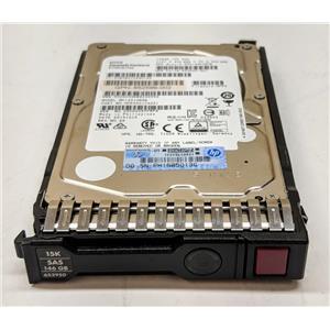 "HP 146GB 15K SAS 2.5"" 6G Dual Port 652625-001 652599-002 653950-001 SFF"