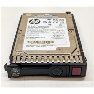 "HP 300GB 15K RPM 2.5"" SAS 627114-002 652599-003 653960-001 Hard Drive"