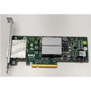 Dell SAS External Dual Ports 6GB/s HBA Controller 12DNW Refurbished High Profile