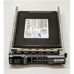 "HP 240GB 2.5"" SATA II 3Gbps MZ7WD240HAFV MZ-7WD2400 Dell PGPVW"