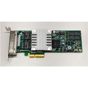 Sun Intel PRO/1000 PT Quad Port Gigabit NIC Ethernet Card 375-3481 Low Profile