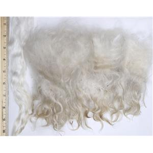 "Mohair raw white fine adult straighter 2 oz 6-12"" 26658"