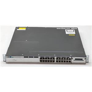 Cisco Catalyst 24 10/100/1000 Port Switch PoE  WS-C3750X-24P-E