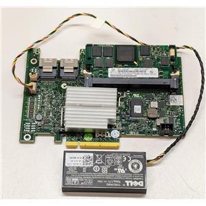 Dell Perc H700 1GB Cache 6Gb/s 39H7H PCIe x8 RAID Controller w/ Battery
