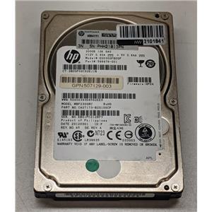 """HP 300GB 10K SAS 2.5"""" 6G 507284-001 619286-001 507129-003 ST9300605SS NO Tray"""