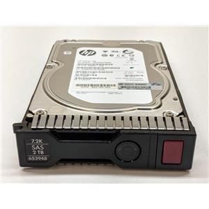 HP 2TB 6G SAS Hard Drives 695507-002 652755-002 ST2000NM0023 653948-001
