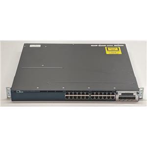 Cisco Catalyst WS-C3560X-24T-S 24-Port 1Gbps Switch w/ C3KX-NM-1G PoE Switch