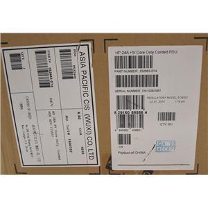 HPE 252663-D74 HP 24A HC Core only Corded PDU Basic Modular 24A/208V Horizontal