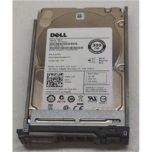 "Dell ST9300605SS 300GB 10K SAS 2.5"" 6Gbps 745GC w/ R-Series Tray"