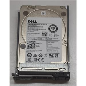 "DELL Seagate ST600MM0088 600GB 10K SAS 2.5"" HDD R95FV w/ R-Series Tray"