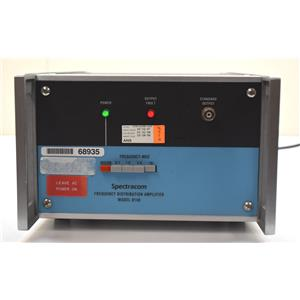 Spectracom 8140 Frequency Distribution Amplifier - Opt 20 Alarm Buzzer Powers on