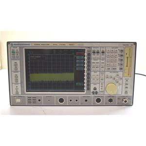 Rohde& Schwarz Vector Signal Analyzer FSIQ 3 20Hz-3.5GHz Power On NOT CALIBRATED