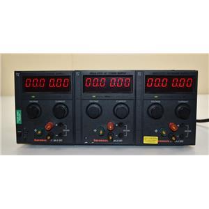 Sorensen XTT20-3 Triple Outlet DC Power Supply 0-20V 0-3A w/(3) XT 20-3