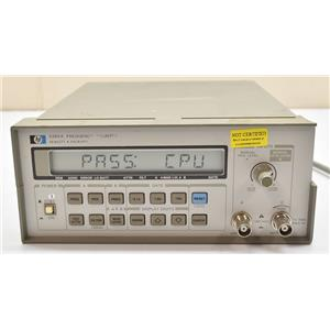 Hewlett Packard Agilent 5385A Frequency Counter 10Hz - 1Ghz Powers On