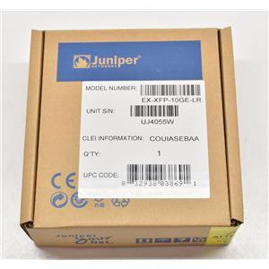 Juniper Networks EX-XFP-10GE-LR XFP-10GE-LR XFP 1310nm SMF NEW SEALED