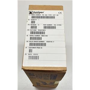 New Juniper PB-4GE-TYPE1-SFP-IQ2 4-port GBE Type 1 IQ2 PIC M120 M320 750-012266