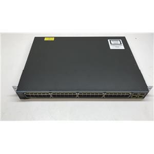 Cisco WS-C2960-48PST-S 2960-Plus 48 Ethernet PoE 2 SFP 2 1000BASE-T LAN