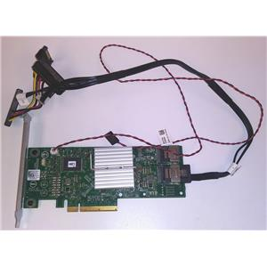 Dell HV52W PERC H310 8-Port 6Gbps SAS/SATA PowerEdge RAID Controller w/ Cables