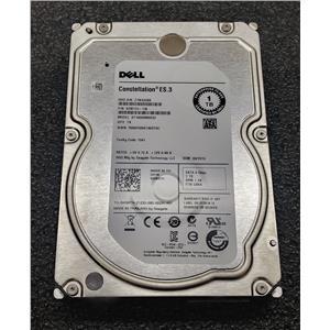 "Dell 0W69TH Seagate 1TB SATA Hard Drive 7.2K 3.5"" ST1000NM0033 6Gbps"
