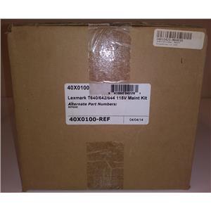 Lexmark 40X0100-REF T640/T642/T644 NON-OEM Remanufactured Maintenance Kit