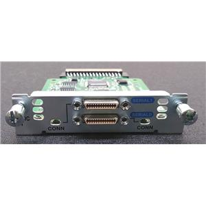 Genuine OEM Cisco HWIC-2T V04 2 Port Asynchronous WAN Serial Interface Card