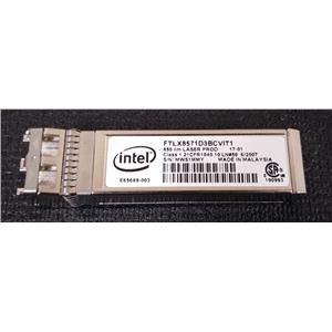 Intel Dell Y3KJN 10GBASE SFP Optical Transceiver Module FTLX8571D3BCVIT1