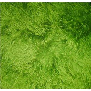 "4"" spring green tibetan lambskin no seam 23565"