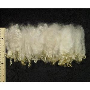 Cotswold wool locks  natural  cream white  1oz  23632
