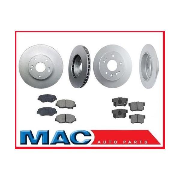 2001-2003  Acura 3.2CL CL  Frt & Rr Rotors & Pads