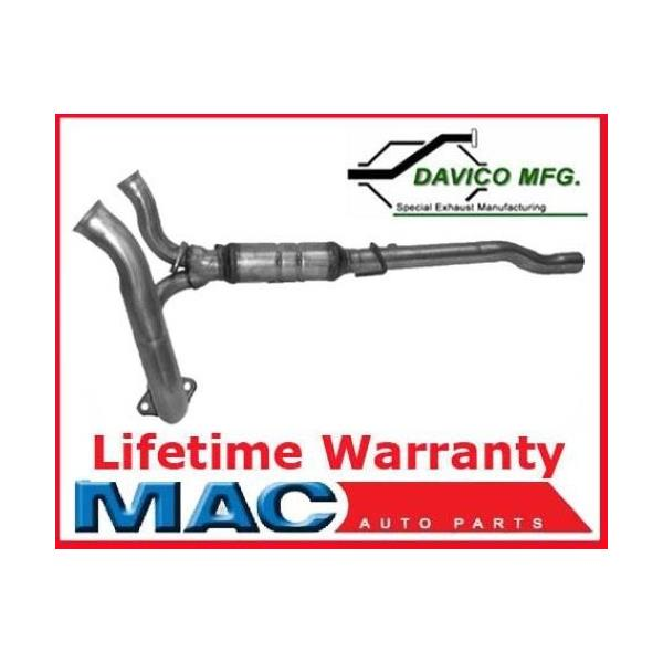 02-03 Ram 1500 4.7L Federal Emissions Engine Y Pipe With (1) Catalytic Converter